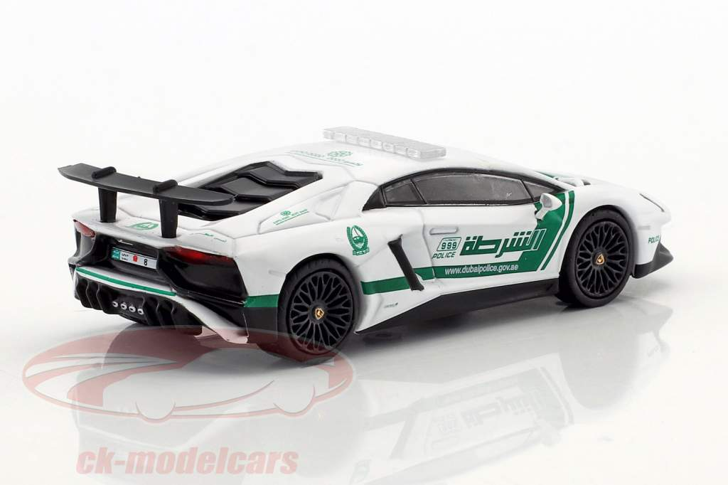 Lamborghini Aventador SV Dubai police 1:64 Tarmac Works