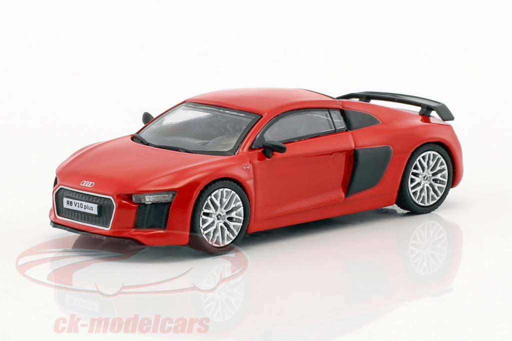 Audi R8 V10 Plus dynamite rouge 1:64 Tarmac Works
