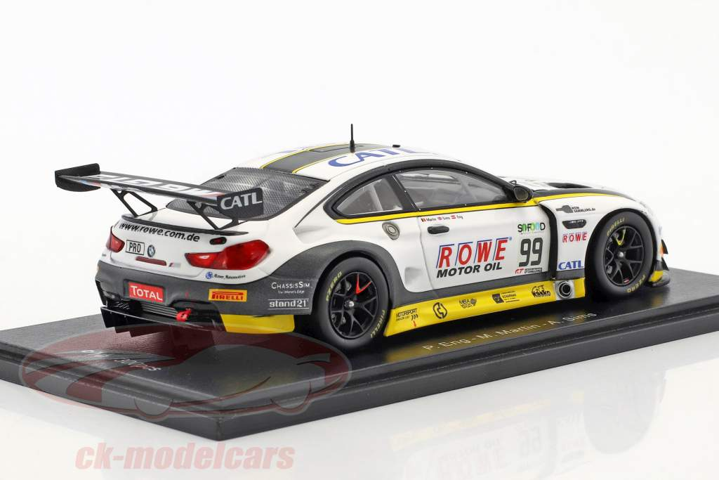 BMW M6 GT3 #99 24h Spa 2017 Rowe Racing 1:43 Spark