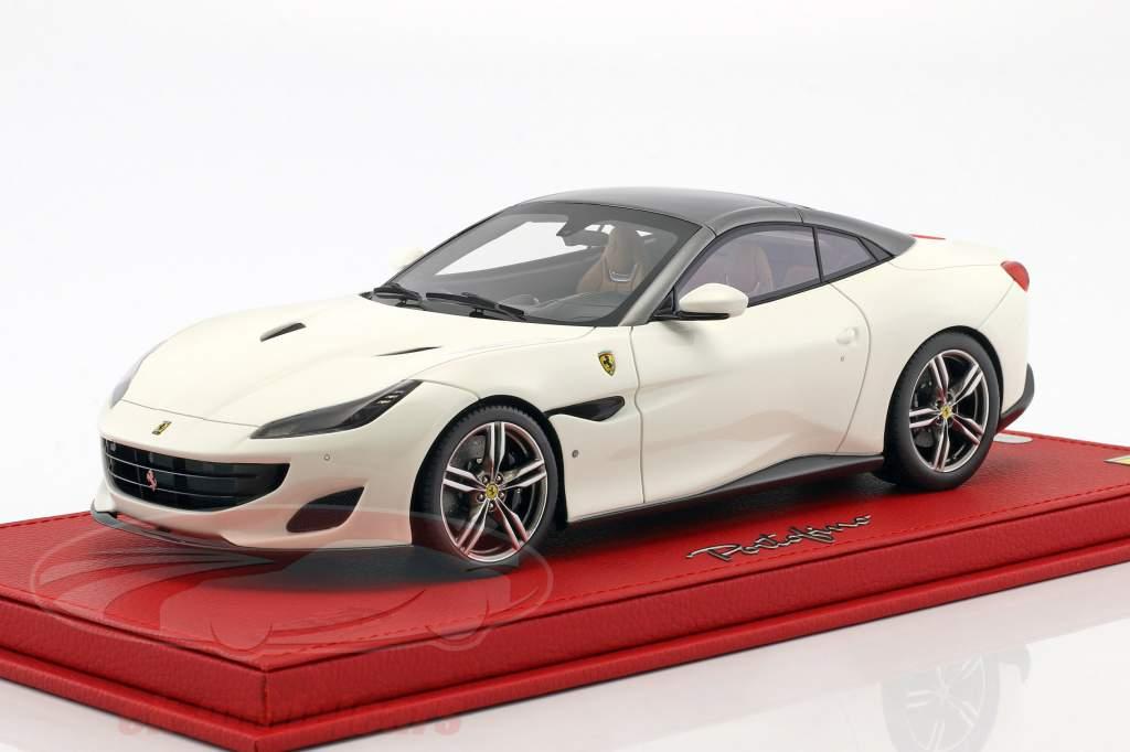 Ferrari Portofino white / gray 1:18 BBR