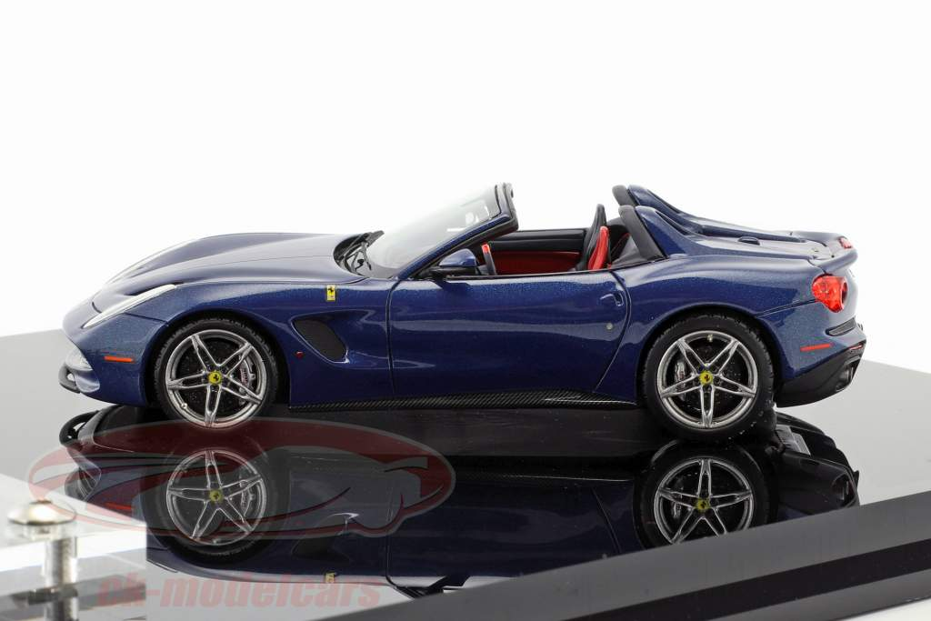 Ferrari F60 America year 2014 dark blue with showcase 1:43 BBR