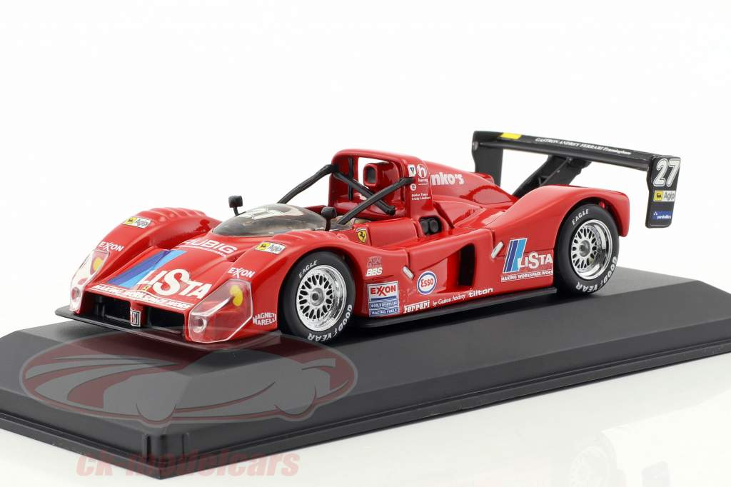 Ferrari 333 SP #27 Lista Design 1996 Theys, Lienhard 1:43 Minichamps