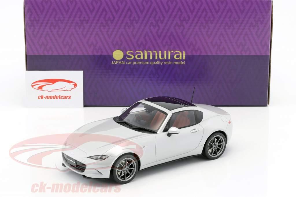 Mazda Roadster year 2017 silver 1:18 Kyosho