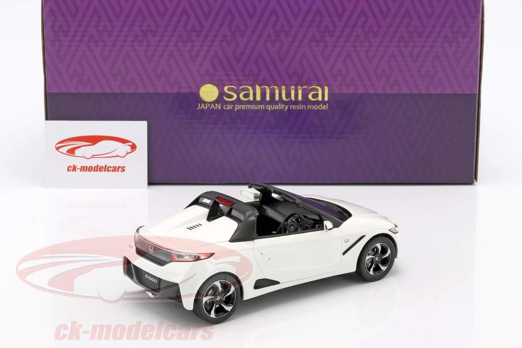 Honda S660 year 2016 white 1:18 Kyosho