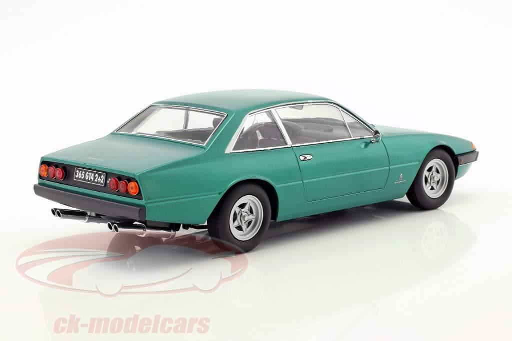 Ferrari 365 GT4 2+2 year 1972 green metallic 1:18 KK-Scale