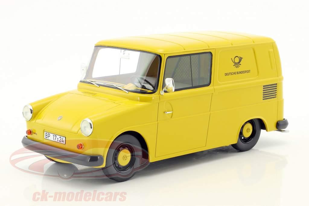 Volkswagen VW Fridolin German Federal post yellow 1:18 Schuco