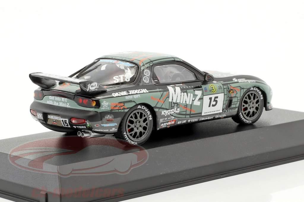Mazda RX-7 #15 Kyosho Makers Okabe Jidosha 1:43 Kyosho