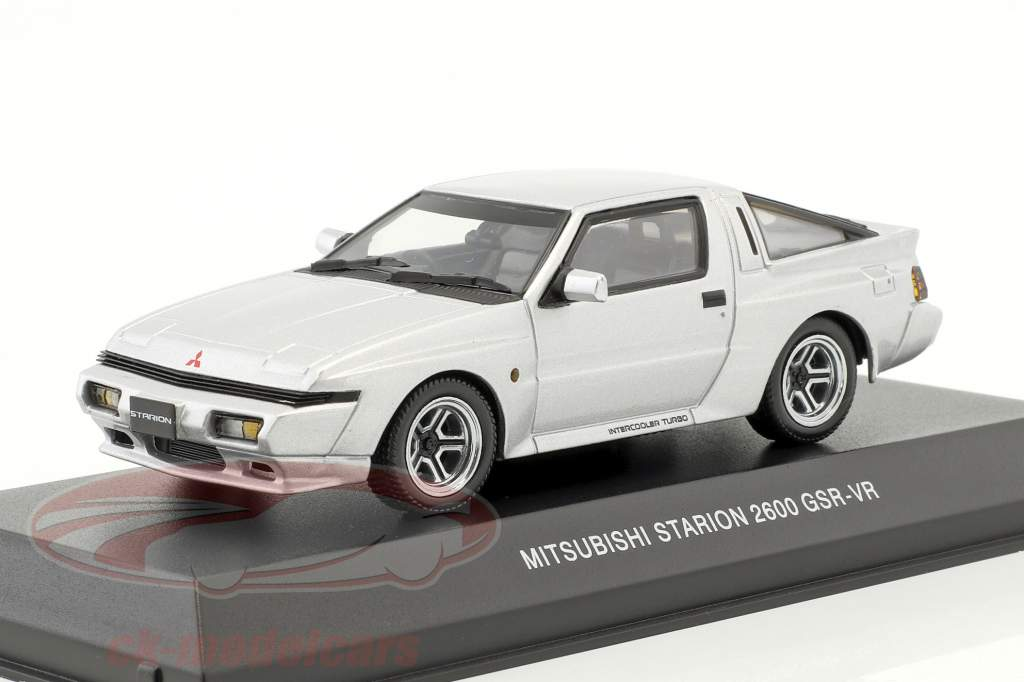 Mitsubishi Starion 2600 GSR-VR Baujahr 1988 silber 1:43 Kyosho