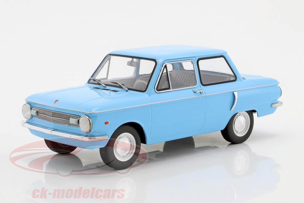 Saporoshez SAS 966 light blue 1:18 Model Car Group