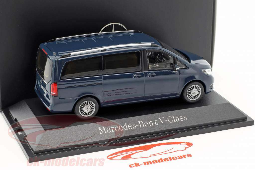 Mercedes-Benz V-Class marina blu 1:43 Norev