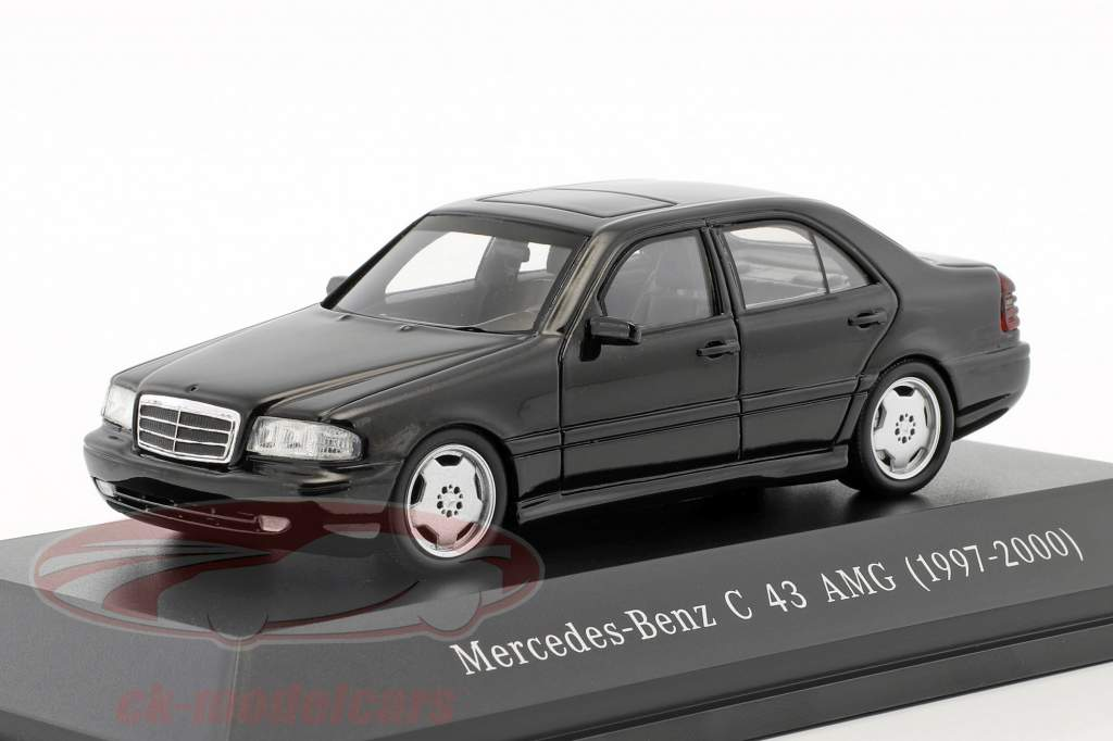 Mercedes-Benz C43 AMG year 1997-2000 black 1:43 Spark