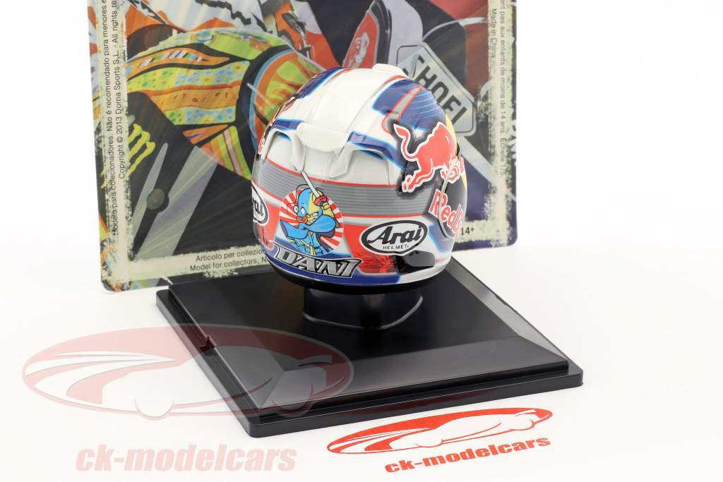 Dani Pedrosa MotoGP 2012 Helm 1:5 Altaya