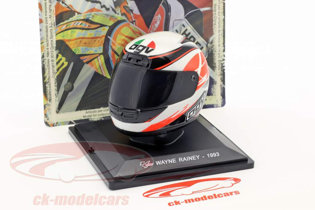 Wayne Rainey 500cm³ 1993 Last Race Helm 1:5 Altaya