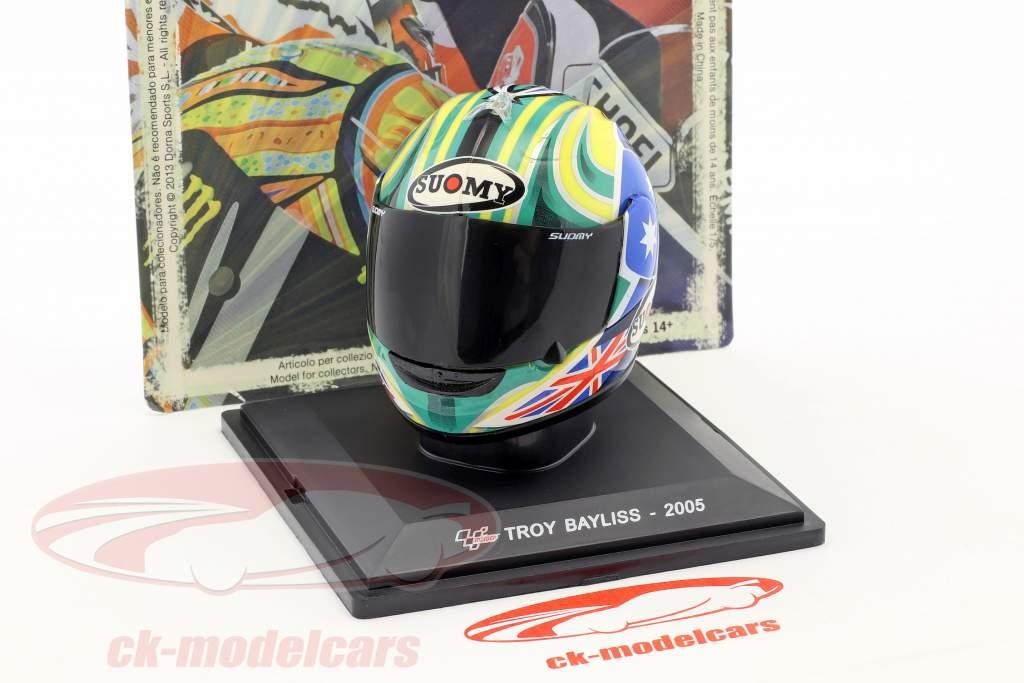 Troy Bayliss MotoGP 2005 casque 1:5 Altaya