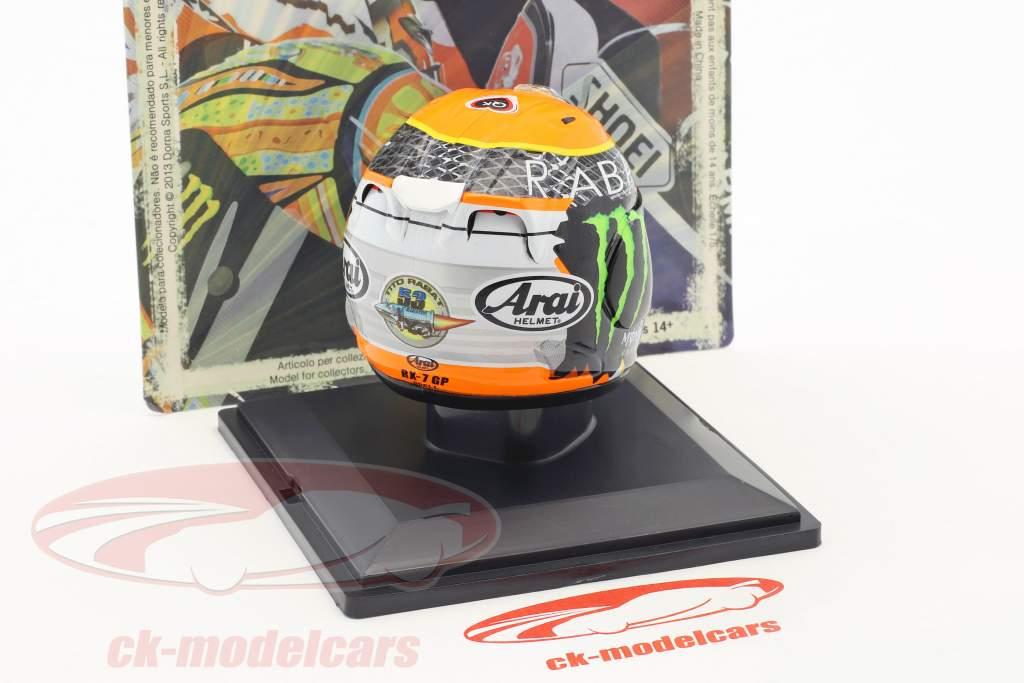 Esteve Rabat champion du monde Moto2 2014 casque 1:5 Altaya