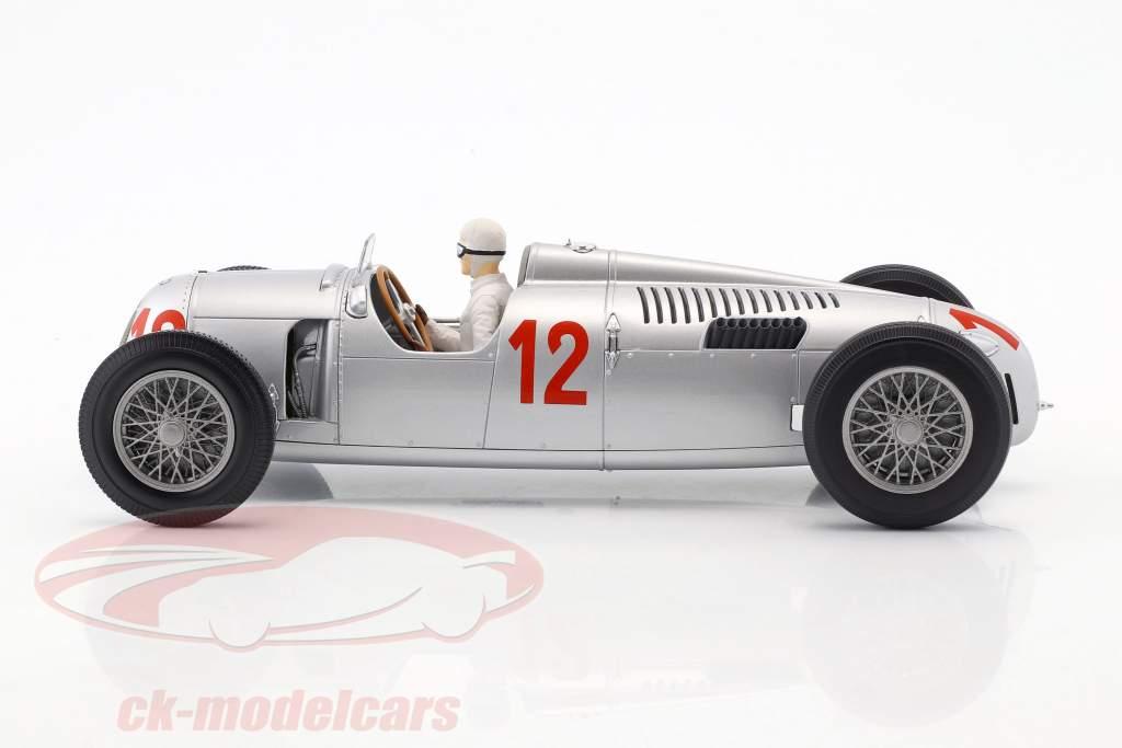 Auto Union Typ C #12 H. Stuck GP Budapest formula 1 1936 1:18 Minichamps