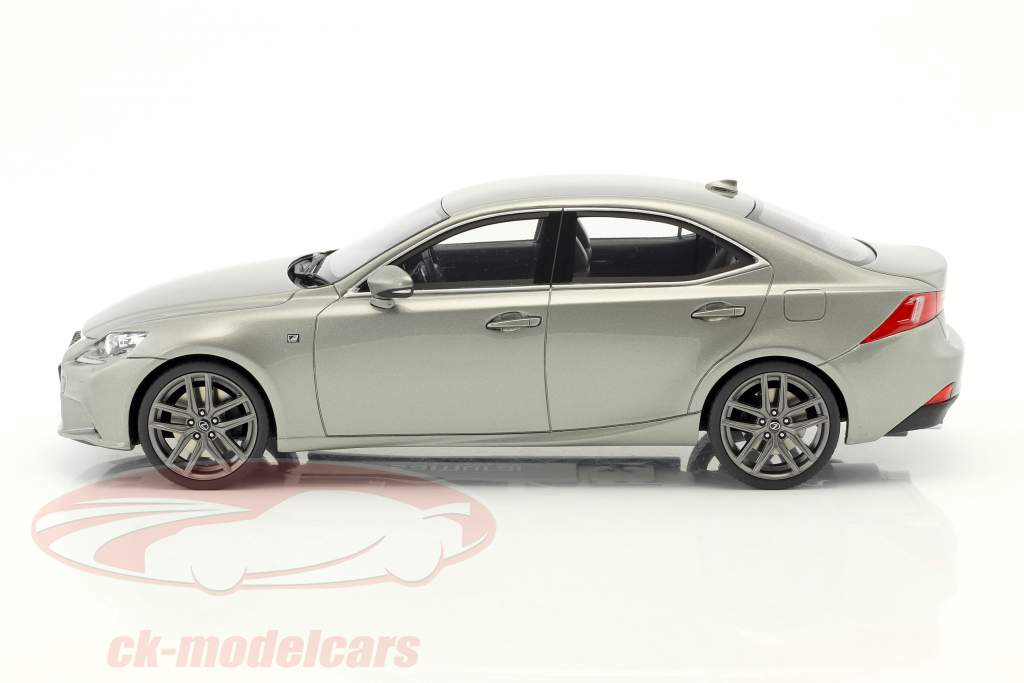 Lexus IS350 F Sport grigio metallico 1:18 Kyosho