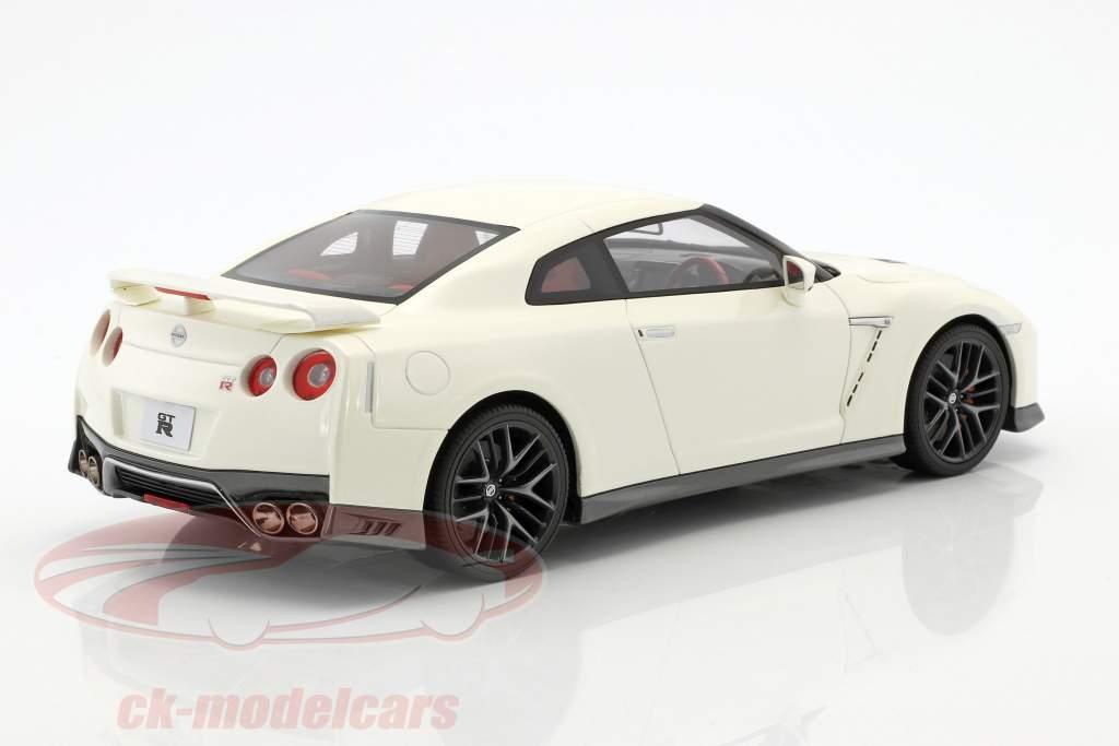 Nissan GT-R R35 bianco 1:18 Kyosho