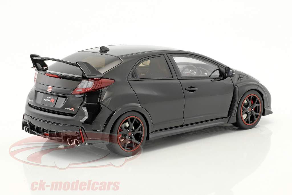 Honda Civic Type R year 2015 black 1:18 Kyosho