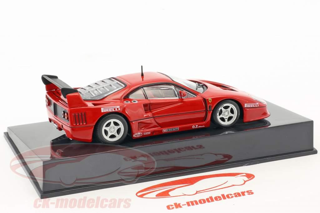 Ferrari F40 Racing rot con vetrina 1:43 Altaya