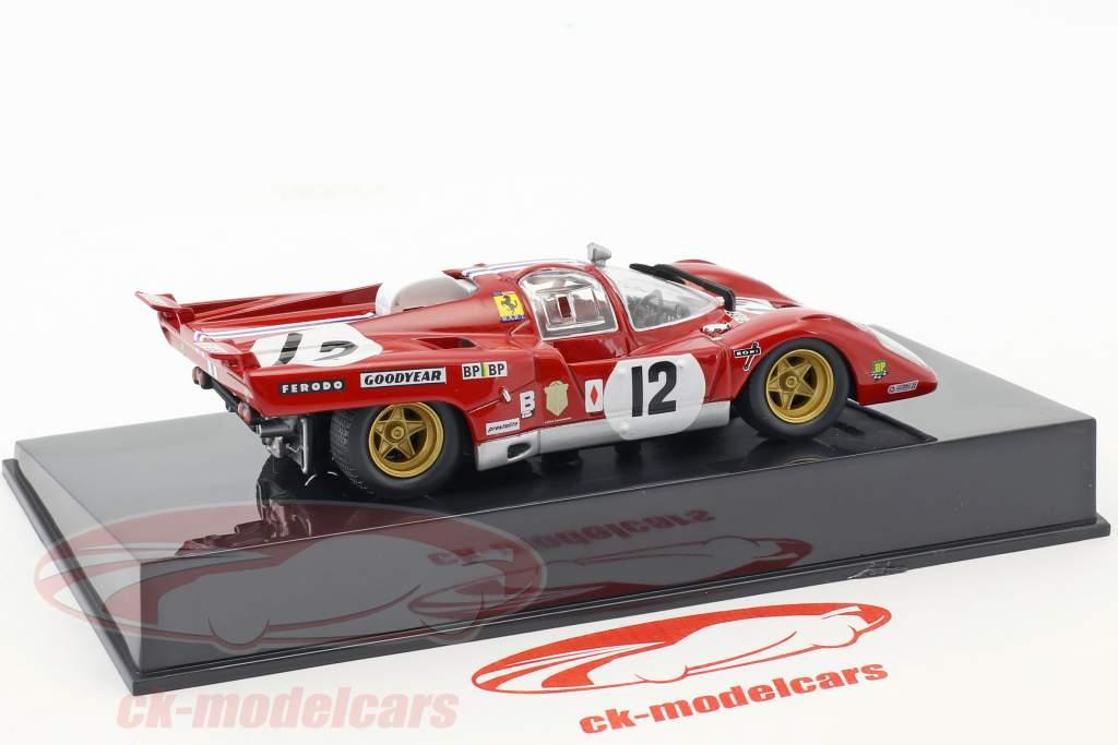 Ferrari 512M #12 3rd 24h LeMans 1971 Posey, Adamowicz with showcase 1:43 Altaya