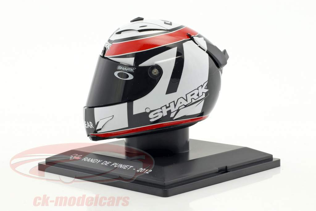 Randy De Puniet MotoGP 2012 casco 1:5 Altaya