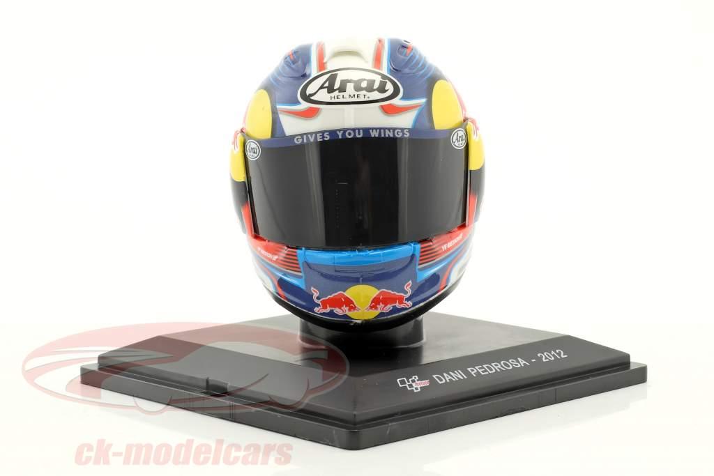 Dani Pedrosa MotoGP 2012 casco 1:5 Altaya