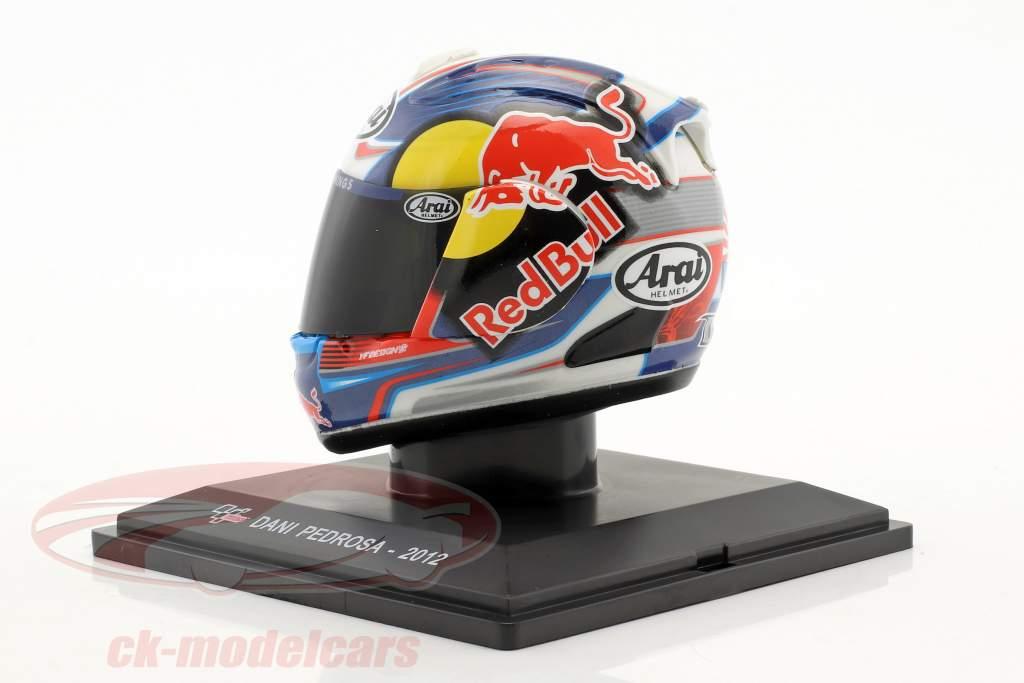Dani Pedrosa MotoGP 2012 helmet 1:5 Altaya