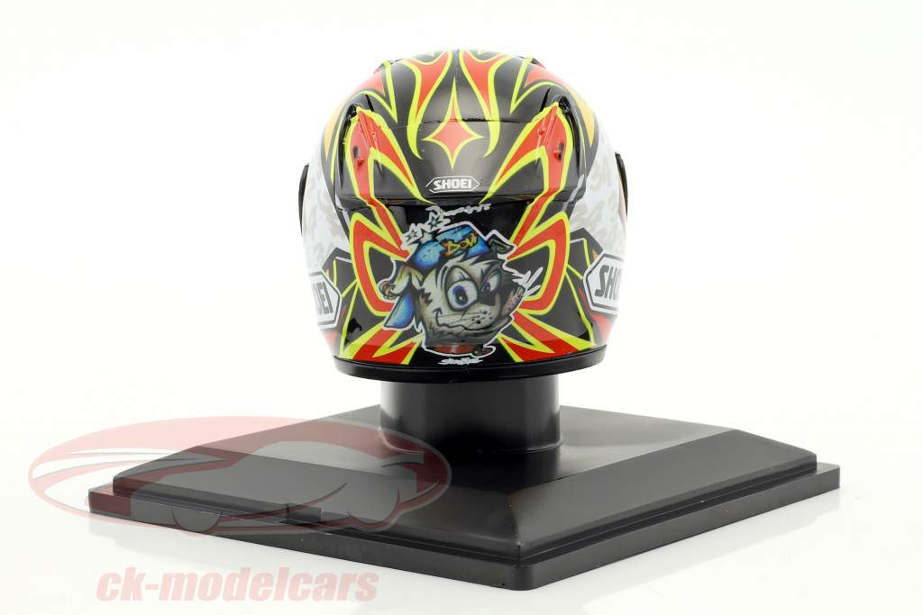 Andrea Dovizioso World Champion 125cm³ 2004 helmet 1:5 Altaya