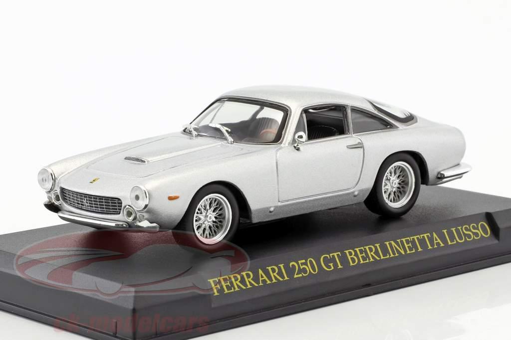 Ferrari 250 GT Berlinetta Lusso silber 1:43 Altaya