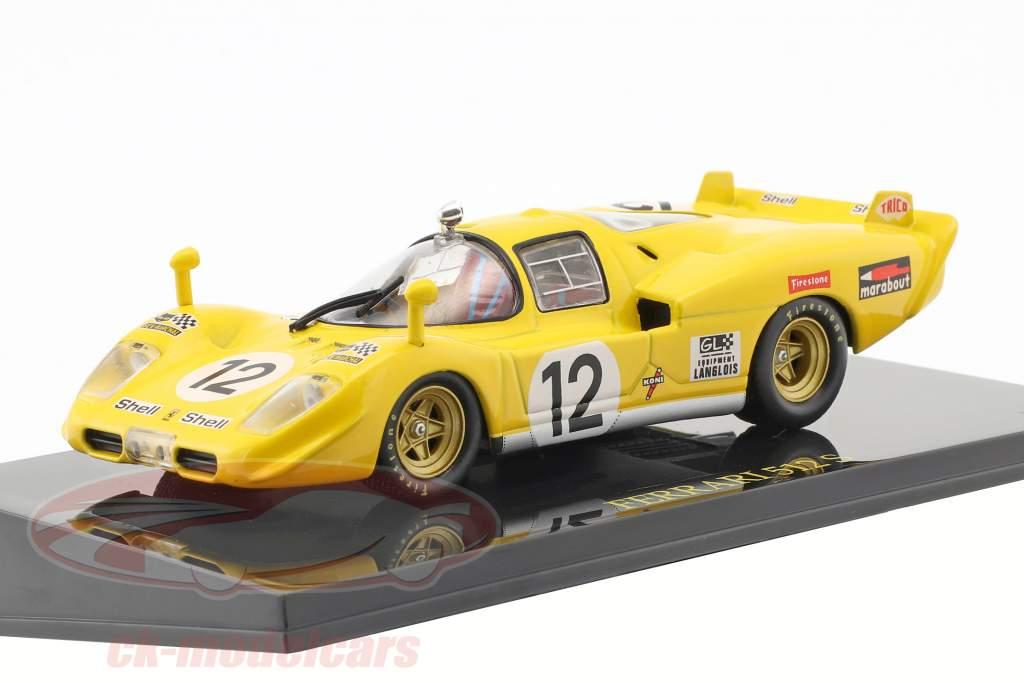 Ferrari 512 S #12 24h LeMans 1970 Fierlant, Walker with showcase 1:43 Altaya