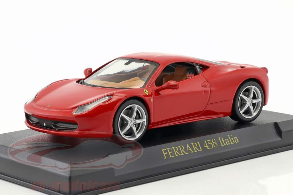 Ferrari 458 Italia red 1:43 Altaya