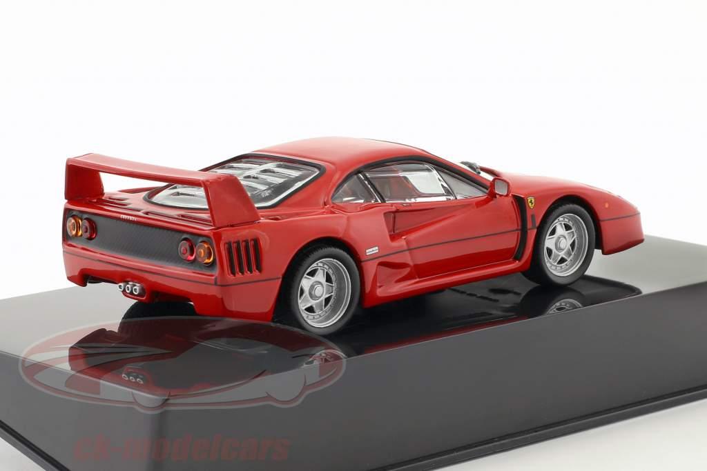 Ferrari F40 rosso con vetrina 1:43 Altaya