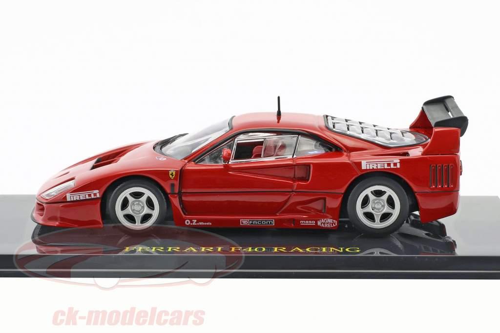 Ferrari F40 Racing rot with showcase 1:43 Altaya