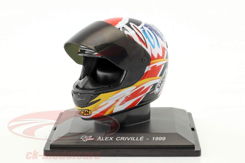 Alex Criville campione del mondo 500cm³ 1999 casco 1:5 Altaya
