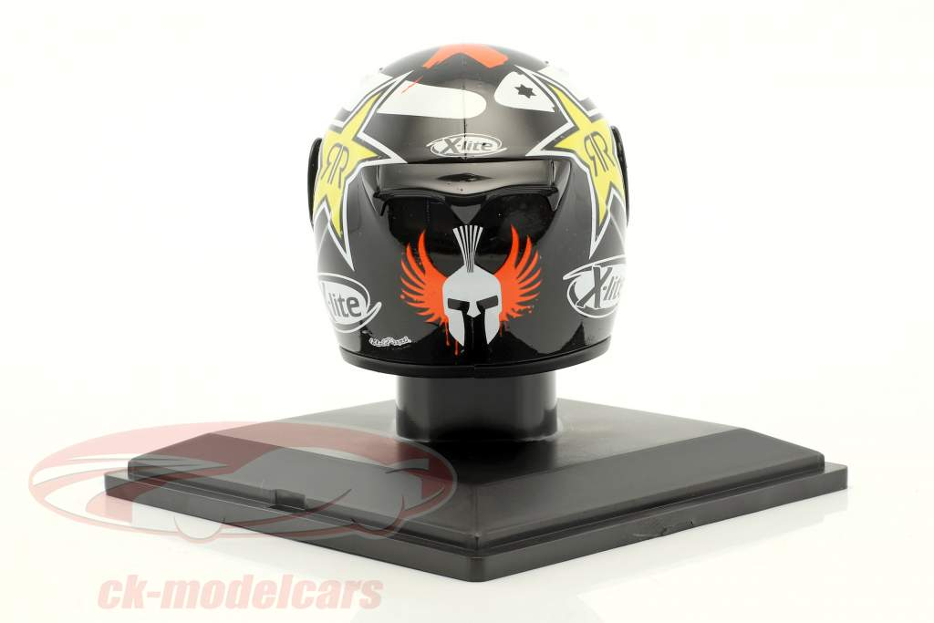 Jorge Lorenzo Weltmeister MotoGP 2012 Helm 1:5 Altaya