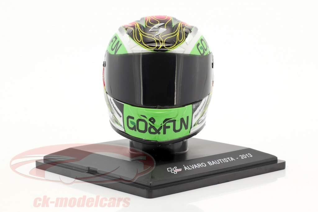 Alvaro Bautista MotoGP 2013 Helm 1:5 Altaya