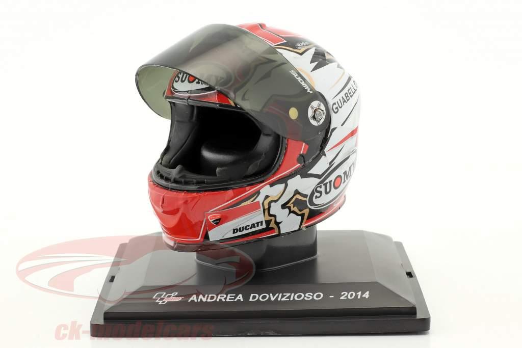 Andrea Dovizioso MotoGP 2014 helmet 1:5 Altaya