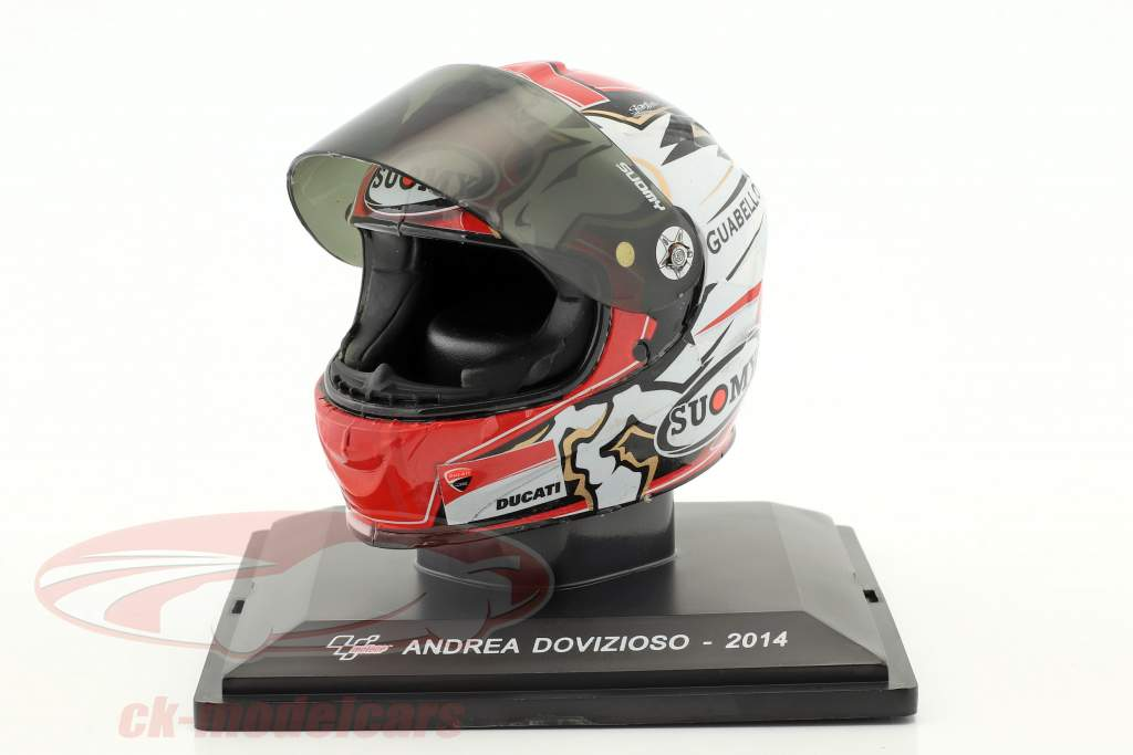 Andrea Dovizioso MotoGP 2014 casque 1:5 Altaya