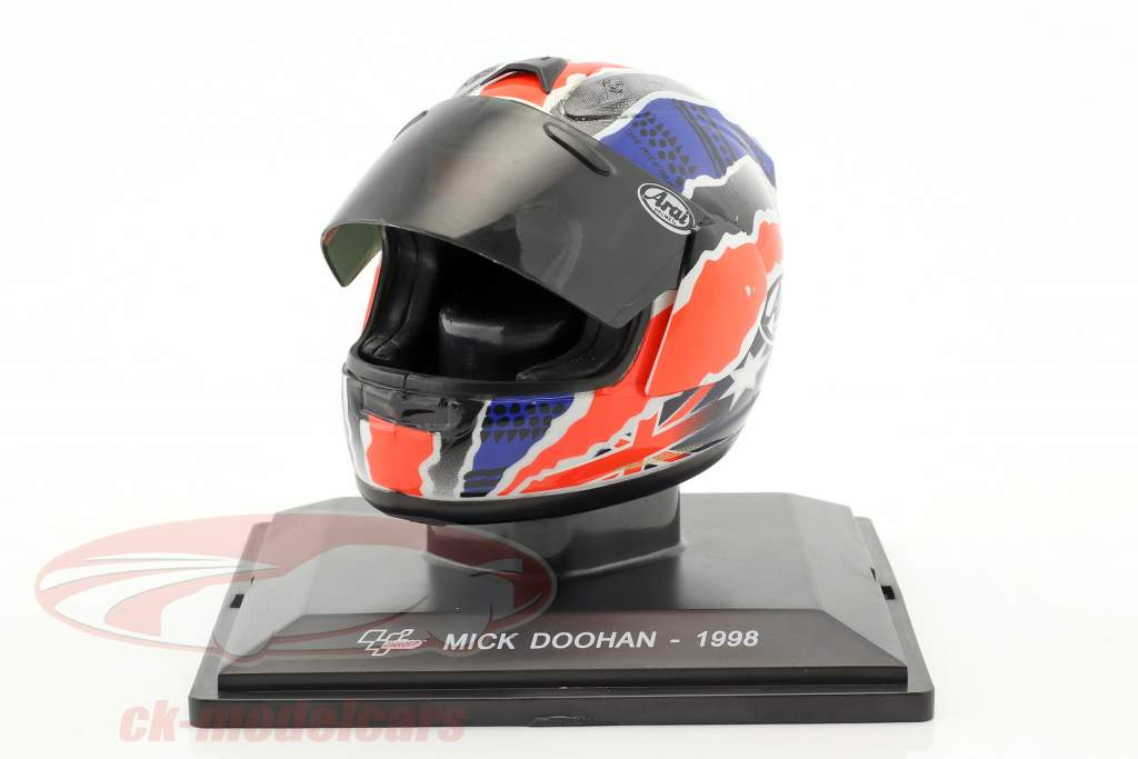 Mick Doohan World Champion 500cm³ 1998 helmet 1:5 Altaya