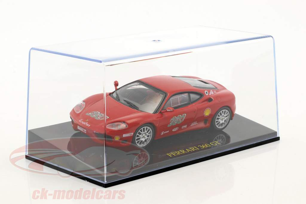 Ferrari 360 GT red with showcase 1:43 Altaya