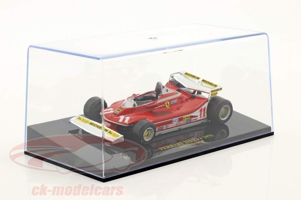 Jody Scheckter Ferrari 312 T4 #11 World Champion formula 1 1979 with showcase 1:43 Altaya