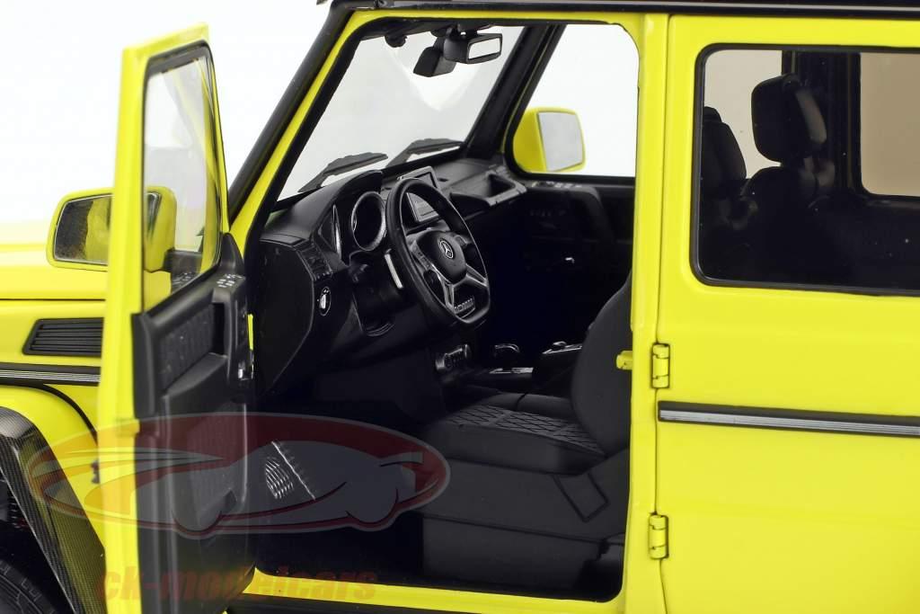 Mercedes-Benz G-Class 4x4² jaune 1:18 Almost Real