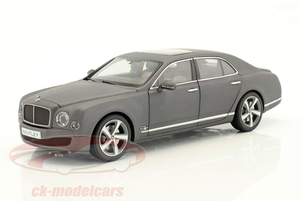 Bentley Mulsanne Speed dark gray satin 1:18 Kyosho