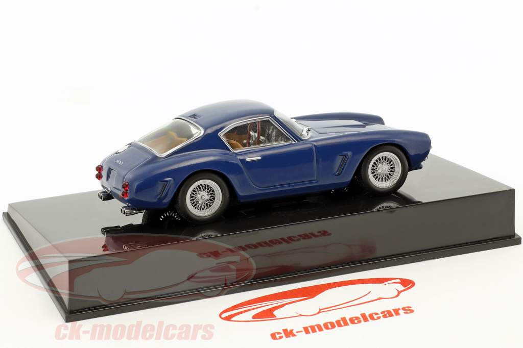 Ferrari 250 GT SWB blue with showcase 1:43 Altaya