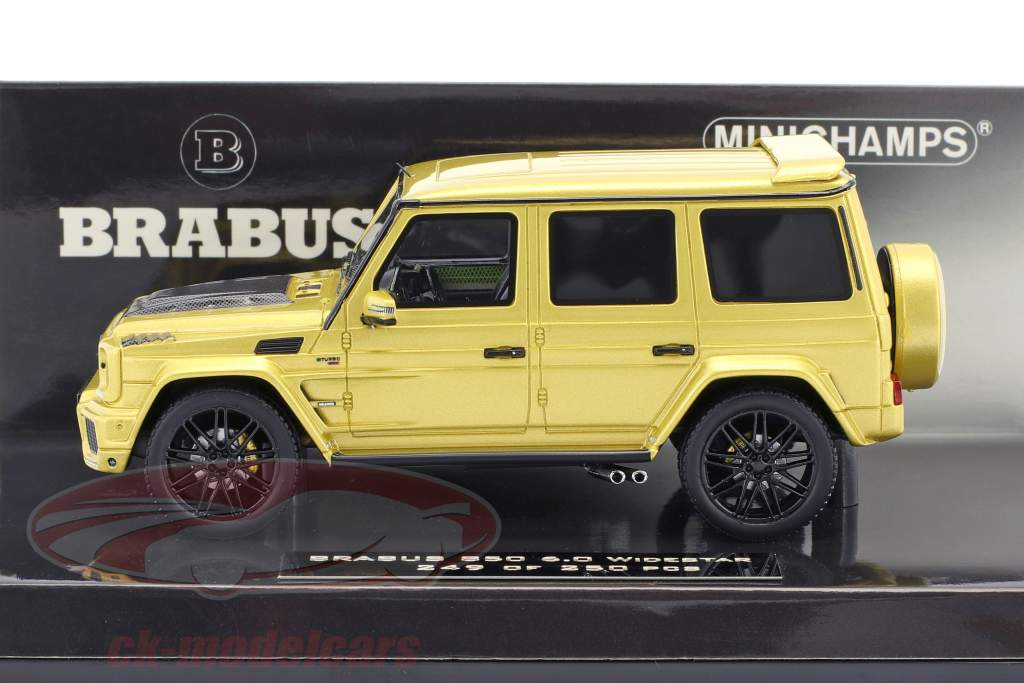Brabus 850 6.0 Widestar year 2016 gold 1:43 Minichamps