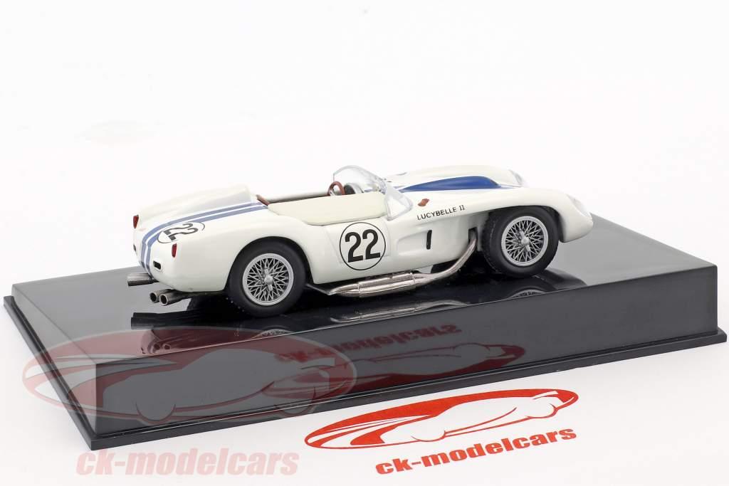 Ferrari 250TR #22 24h LeMans 1958 Hugus / Erickson con vetrina 1:43 Altaya
