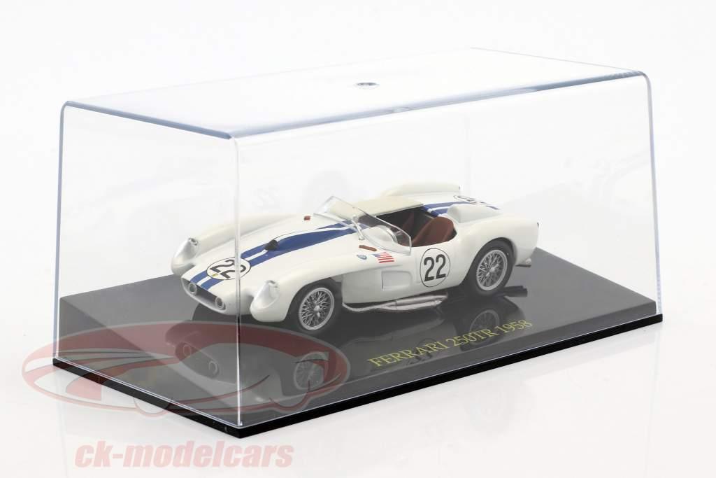 Ferrari 250TR #22 24h LeMans 1958 Hugus / Erickson mit Vitrine 1:43 Altaya
