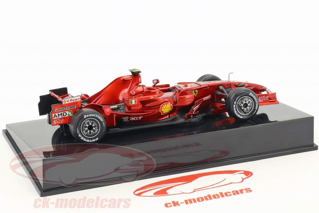 Felipe Massa Ferrari F2008 #2 formula 1 2008 with showcase 1:43 Altaya