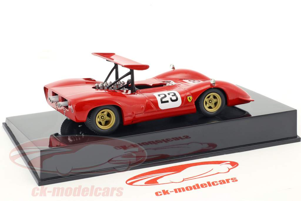 Chris Amon Ferrari 612 #23 CAN AM Series 1968 with Showcase 1:43 Altaya